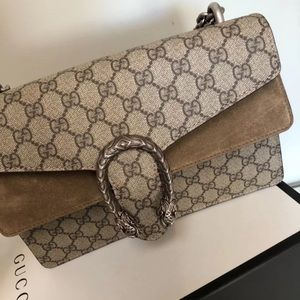 AUTHENTIC GUCCI DIONYSUS GG SUPREME Shoulder Bag